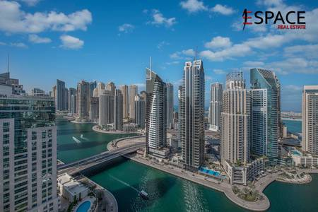 3 Bedroom Apartment for Sale in Dubai Marina, Dubai - Full Marina Views | Upgraded | Three Bedroom