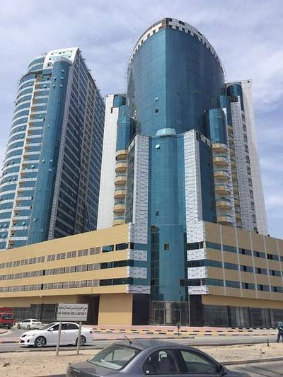1 Bedroom Apartment for Sale in Al Bustan, Ajman - PAY AED 50000 BUY 1 BHK APARTMENT IN ORIENT TOWER