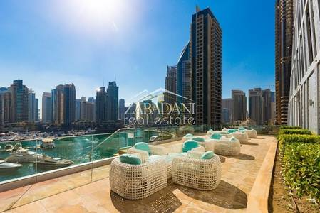 2 Bedroom Flat for Sale in Dubai Marina, Dubai - Full Marina View - Spacious 2 Bed In Cayan Tower For Sale