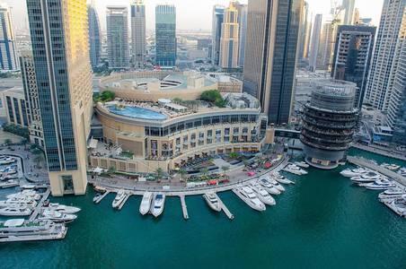 1 Bedroom Flat for Sale in Dubai Marina, Dubai - Exclusive, Marina View 1BR, Bay Central 1