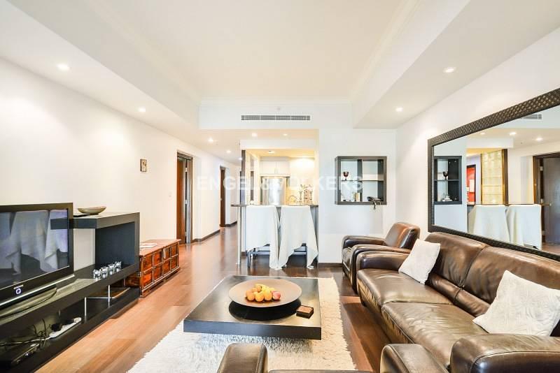 2 Large Balcony| Marina View| Wooden Floor