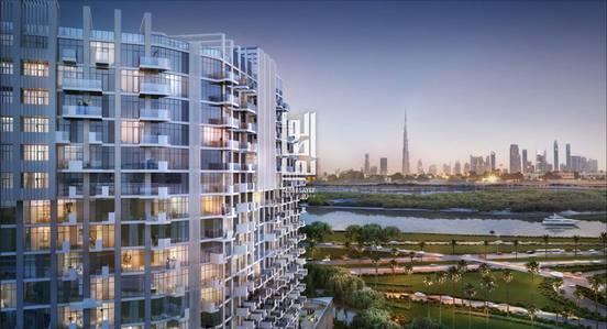 Studio for Sale in Bur Dubai, Dubai - Elegant studio with modern finishing in DHCC with installment