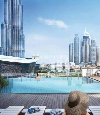 1 Bedroom Apartment for Sale in Downtown Dubai, Dubai - AED 77,000 EVERY 4 MONTHS AFTER HANDOVER