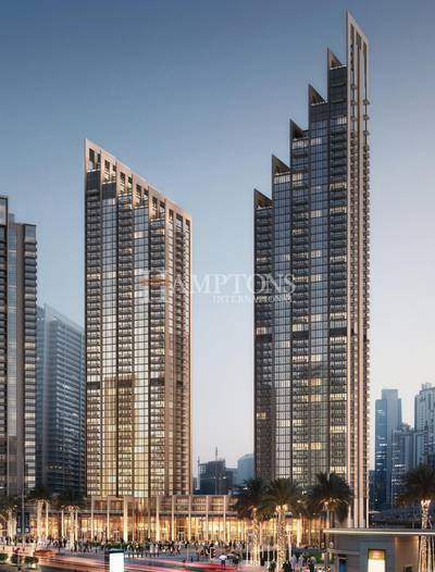 3 Bedroom Apartment for Sale in Downtown Dubai, Dubai - Payment Plan for 5 Years Post Handover