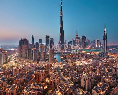 4 Bedroom Apartment for Sale in Downtown Dubai, Dubai - MOVE IN AND PAY 5% QUARTERLY. NO DLD FEE