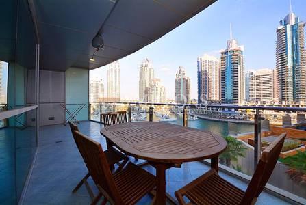 1 Bedroom Flat for Sale in Dubai Marina, Dubai - Bright 1BR with Marina View | Marina Terrace