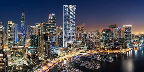 1 Bedroom Apartment for Sale in Dubai Marina, Dubai - High Floor | Partial Marina View | Vida
