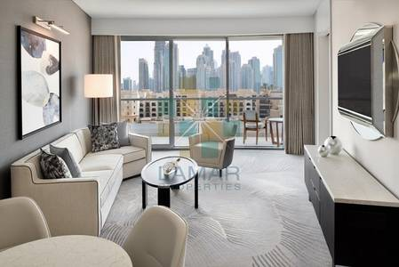 1 Bedroom Hotel Apartment for Rent in Downtown Dubai, Dubai - Min 3 months stay - Luxury 1 Bed Business Bay / City views