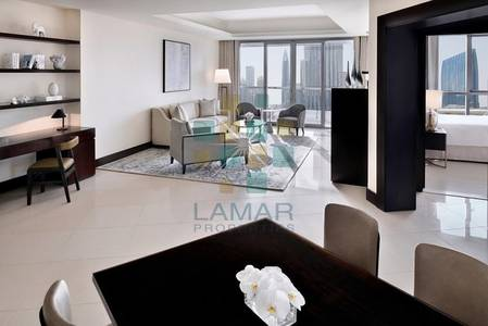1 Bedroom Apartment for Rent in Downtown Dubai, Dubai - Best 1 Bed 07 series with balcony Full Fountain and Burj
