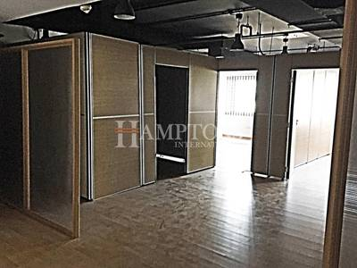 Office for Rent in Jumeirah Lake Towers (JLT), Dubai - Wooden Fit-outs | 3 Partitions | 2 Washrooms