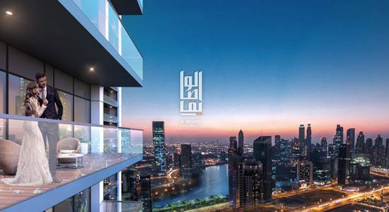 1 Bedroom Flat for Sale in Business Bay, Dubai - Installment unit Just 1% every month..