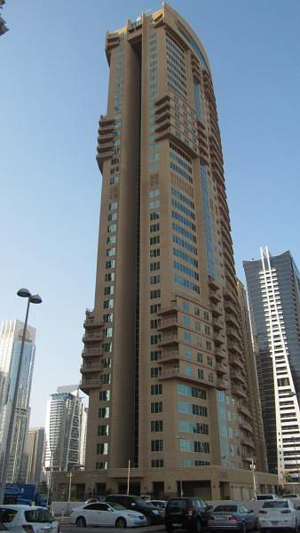 1 Bedroom Apartment for Rent in Jumeirah Lake Towers (JLT), Dubai - 1 Bedroom in Icon Tower 1 JLT/Unfurnished