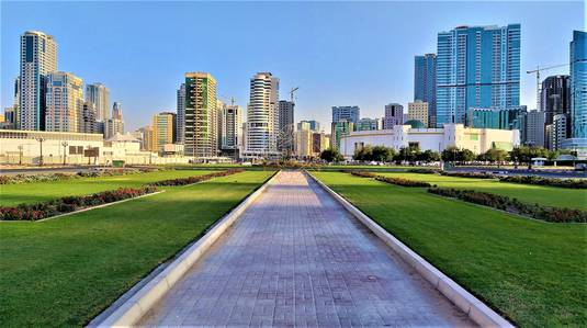 1 Bedroom Flat for Rent in Al Mamzar, Sharjah - 1 Month Free Luxurious 1BHK with Parking 37K