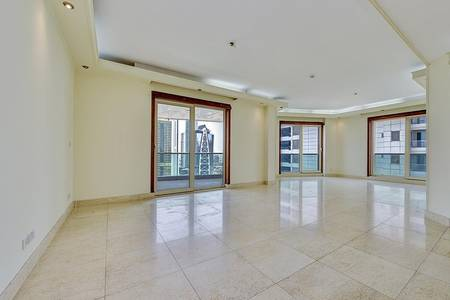 3 Bedroom Flat for Sale in Dubai Marina, Dubai - Vacant | Shk Zayed and Partial Marina View | Large Terrace