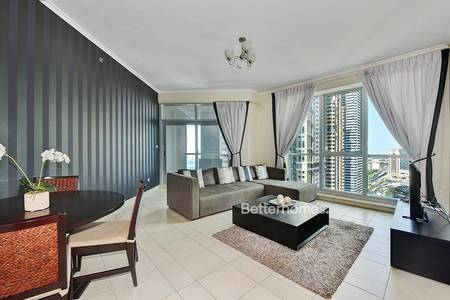 2 Bedroom Apartment for Sale in Dubai Marina, Dubai - Fully Upgraded | Fully Furnished | Sea View | Balcony | VOT