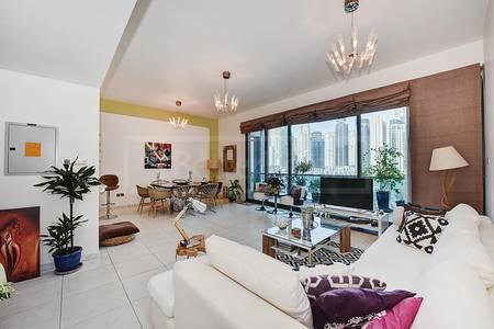 2 Bedroom Apartment for Sale in Dubai Marina, Dubai - Marina View 2 Bed with Balcony in Azure