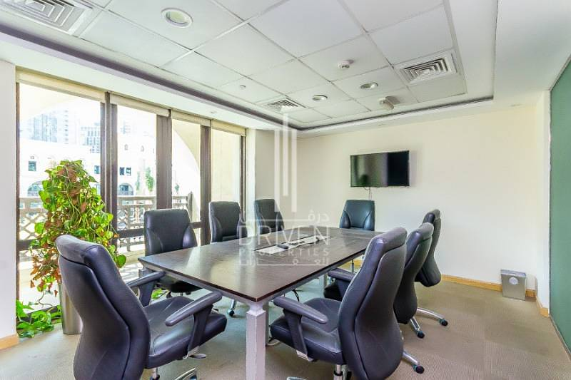 2 Spacious furnished office in Al Saaha - Downtown