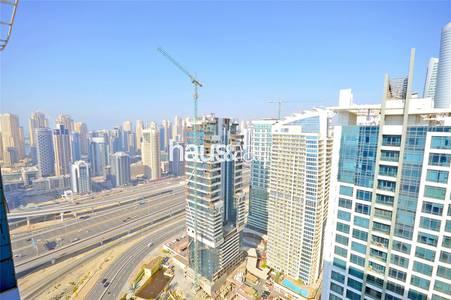 2 Bedroom Flat for Rent in Jumeirah Lake Towers (JLT), Dubai - High Floor || Brand New Tower || Parking