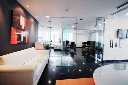 Office for Rent in Jumeirah Lake Towers (JLT), Dubai - Furnished Office at Fortune Executive JLT