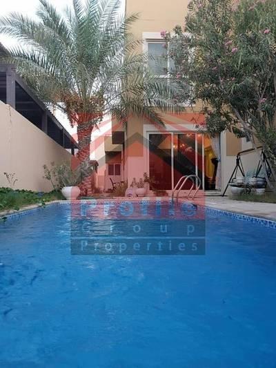 فیلا  للايجار في حدائق الراحة، أبوظبي - 5BR + 1 study room Villa for rent in Al Raha Gardens