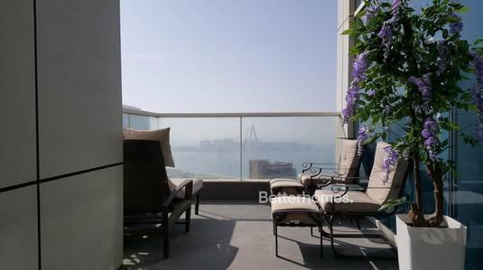 1 Bedroom Flat for Sale in Dubai Marina, Dubai - High Floor   Upgraded   Sea View