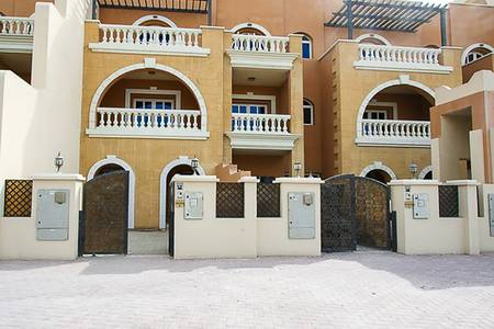 3 Bedroom Townhouse for Rent in Jumeirah Village Circle (JVC), Dubai - Cheapest 3BR ONLY at 95K | G+2 Townhouse
