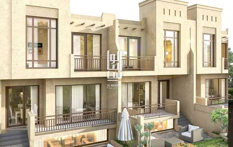4 Bedroom Villa for Sale in Akoya Oxygen, Dubai - Own villa Podium has 4 rooms at a price of 1.25m installments...