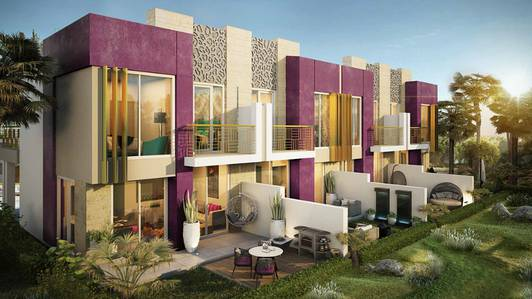 3 Bedroom Villa for Sale in Akoya Oxygen, Dubai - Pay 94. 000 AED And Own villa By monthly installment 1. 5% Just For 5 years