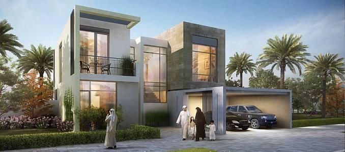 فیلا  للبيع في دبي الجنوب، دبي - تملك  فيلا  بسعر خيالي  وتتميز بالموقع الرائع  مع خطه دفع مرنه .