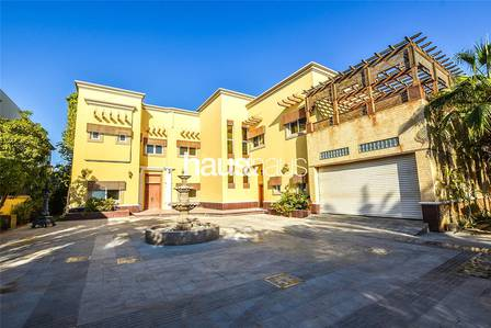6 Bedroom Villa for Rent in Emirates Hills, Dubai - Lake View | 21.000 sqft plot | Must View