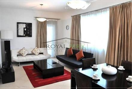 1 Bedroom Flat for Rent in Dubai Marina, Dubai - One Bedroom Near Metro in Marina DIamond 5 with Balcony