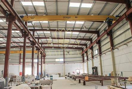 Warehouse for Sale in Dubai Investment Park (DIP), Dubai - 12M + Cranes   Very good Condition   750 KW