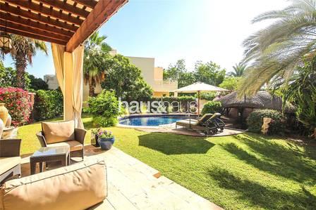 6 Bedroom Villa for Sale in The Meadows, Dubai - Huge Plot | Lovely Garden | Private Pool