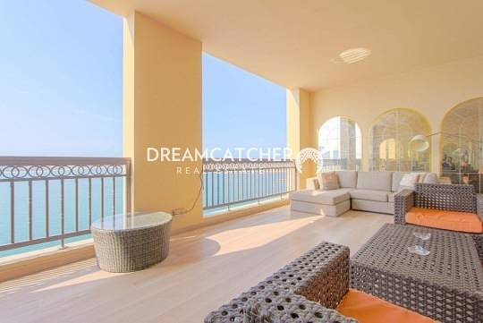 Sea view Fully upgraded 4 bedrooms+Maids