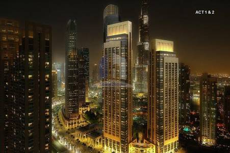 2 Bedroom Apartment for Sale in Downtown Dubai, Dubai - 5 years payment plan | 3 years no svs charge