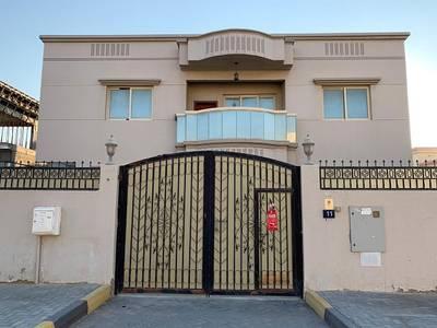 6 Bedroom Villa for Rent in Al Azra, Sharjah - 5 bedrooms furniture villa for rent al azra school area sharjah. close to ajman sharjah border . area 7000 sqft. upside 3 rooms. down bedrooms. good furniture looking indian customer. rent 120k. call 0502140334. wattsapp number 0562695911