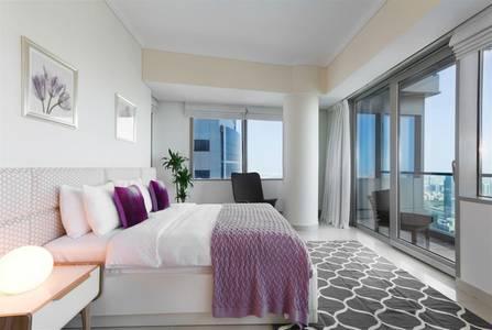 2 Bedroom Apartment for Rent in Dubai Marina, Dubai - LUXURIOUSLY FURNISHED - 2BR High Floor Apt. In Ocean Heights Dubai Marina
