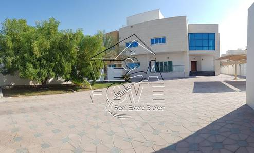 6 Bedroom Villa for Rent in Khalifa City A, Abu Dhabi - 6-M BED VILLA/DRIVER ROOM/POOL/KITCHEN/MAIDS OUTSIDE