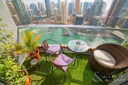 3 Bedroom Apartment for Sale in Dubai Marina, Dubai - Full Marina View | Upgraded | Vacant Now
