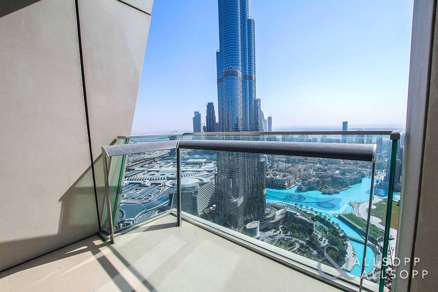 Burj Khalifa View | Maid's Room | 3 Bedrooms