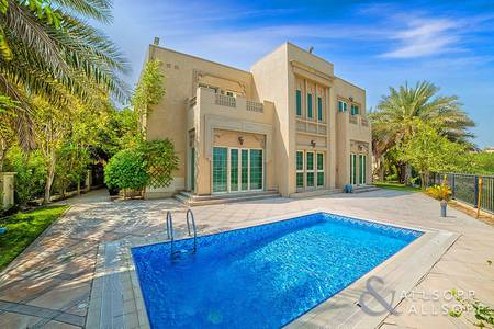 4 Bedroom Villa for Rent in Jumeirah Islands, Dubai - Extended | Open Plan | Lake Skyline View