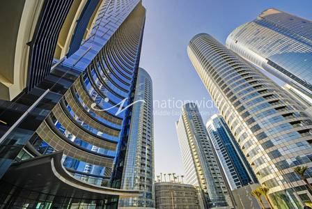 Office for Rent in Al Reem Island, Abu Dhabi - 2 Payments! Shell and Core Office Space!