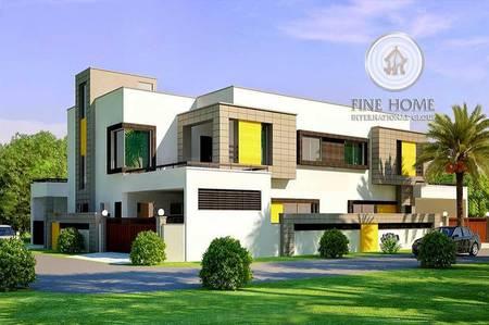 6 Bedroom Villa for Sale in Al Shamkha, Abu Dhabi - Nice 6BR Villa in Al Shamkha _Abu Dhabi.