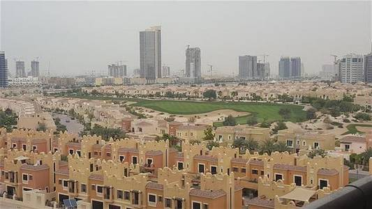 1 Bedroom Flat for Rent in Dubai Sports City, Dubai - Studio Fully Furnished In Elite 8 With Full Golf Coerce View Only In 36k in 4 chques Good Deal