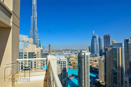 1 Bedroom Flat for Sale in Downtown Dubai, Dubai - Huge Terrace Views Of Dubai Unique Unit