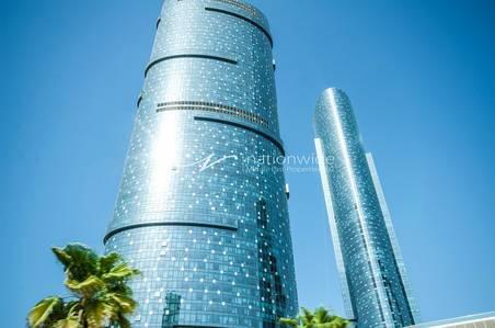 2 Bedroom Apartment for Sale in Al Reem Island, Abu Dhabi - Stunning 2+M Apt + Sea View in Sky Tower