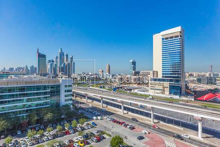 Office for Sale in The Greens, Dubai - Shell & Core w/ SZR view! | Onyx Tower 2