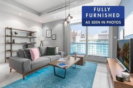 1 Bedroom Apartment for Rent in Dubai Marina, Dubai - Brand New Furniture | Premium Amenities
