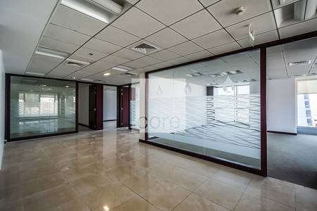 Office for Rent in Jumeirah Lake Towers (JLT), Dubai - Fitted with Partitions | High Floor | DMCC