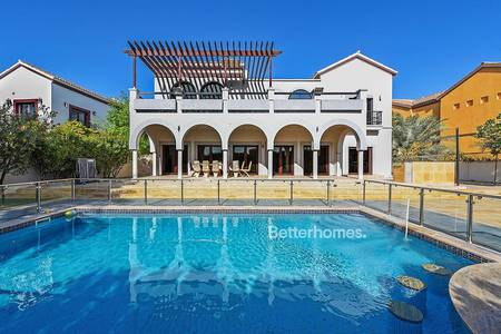 5 Bedroom Villa for Rent in The Villa, Dubai - Upgraded Marbella | Private Pool |Large Plot